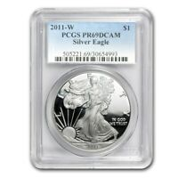 2011-W Proof Silver American Eagle PR-69 PCGS - SKU #63830