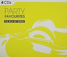 Party Favourites: 4 CDs Box Set Series by Various Artists  New & Sealed