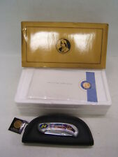 Franklin Mint Collectors Nascar Jeff Gordon #24 Pocket Knife w/ Pouch and Coa