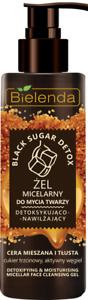 Bielenda BLACK SUGAR DETOX Detoxifying and Moisturizing Micellar Gel 200g