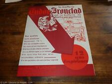 1930.Publicité pour batterie accumulateur Tudor (Lille).