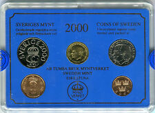 KMS Kursmünzensatz Schweden 2000 M_853