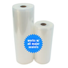 2 ROLLS 1 Ea. 8x50 & 11x50 4 Mil Vacuum Seal Rolls FREE Foodsaver Bag to Compare