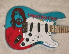 DAVID DAVE GROHL SIGNED FOO FIGHTERS CUSTOM 1 OF 1 F/S ELECTRIC GUITAR W/PROOF