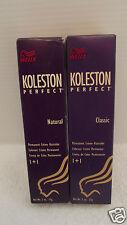 ORIG Wella Koleston Perfect NATURALS & CLASSICS Hair Color 2 oz ~ (Levels 1 - 8)