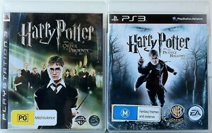 Harry Potter & The Order of The Phoenix & The Deathly Hallows Part 1 Games PS3