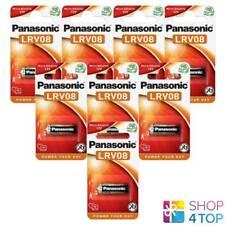 8 PANASONIC CELL POWER ALKALINE 23A LRV08 MN21 BATTERIES 12V 23GA E23A NEW