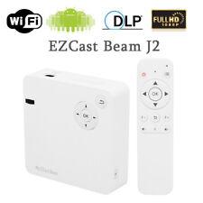 Mini Portable DLP WIFI Pocket Projector Wireless For Home Cinema HD 1080P E4Z2