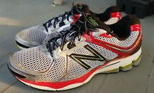 NEW BALANCE 880 V2 Running Fitness Shoes Mens Size 11.5 MED Silver Red