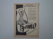 advertising Pubblicità 1956 YOGURT YOMO