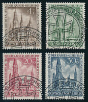 BERLIN, MiNr. 106-109, 106-09, sauber SST gestempelt, gepr. Schlegel, Mi. 230,-