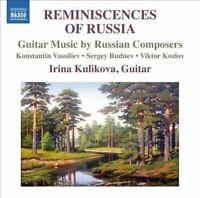 Reminiscences of Russia - Guitar Music by Russian Composers, New Music