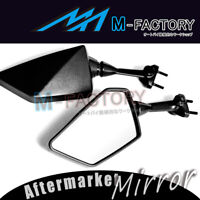 MC MOTOPARTS Delrin Mirror Spacer Adapter For Kawasaki Ninja 300R EX 300 2013 2014 2015 2016 2017 ER-6F 09-15