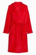 NEXT DRESSING GOWN  Robe SIZE large   red Robe 16-18 new