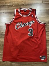Vintage Nike Chicago Bulls Tyson Chandler Sewn Mesh NBA Jersey Sz XXL