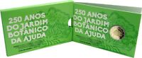 Portugal 2 Euro 2018 Botanischer Garten Ajuda Gedenkmünze Polierte Platte