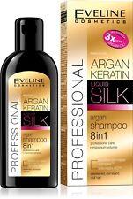 Eveline Argan Keratin Argan Shampoo Liquid Silk 8in1 Professional