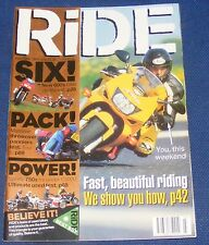 RIDE MAGAZINE JULY 1998 - SIX! PACK! POWER!