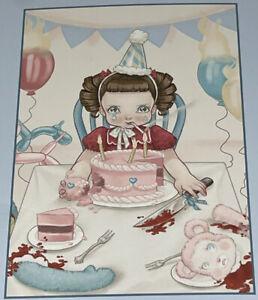 Melanie Martinez Cry Baby Pity Party Puzzle 200 Piece 11x16 New Not Sealed