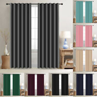 "2 Panels Blackout Window Curtains Thermal Insulated Drapes for Bedroom 52""Width"