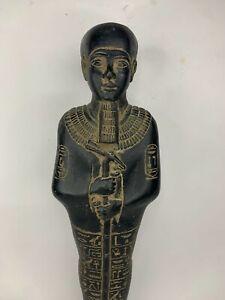 ANTIQUE ANCIENT EGYPTIAN STATUE God Ptah Crafts & Architects Magic Hiroglyphic