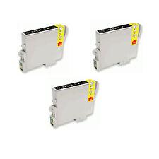 3 INCHIOSTRO NERO PER EPSON R265 R360 rx285 RX560 RX585 RX685