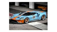 GREENLIGHT 1/64 2017 FORD GT GULF HOBBY EXCLUSIVES NEW PRE ORDER