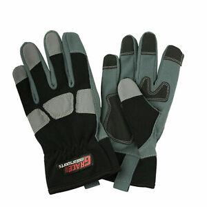 Work Gloves Hand Protection Mechanics Tradesman Farmer's Gardening DIY Builders