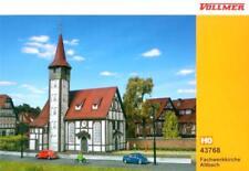 """Vollmer 43768 ( 3768 ) H0 - Fachwerkkirche """" Altbach """" NEU & OvP"""