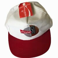 Rare Vintage COCA COLA 5th Avenue New York NYC Coke Brand NWT Snapback Hat Cap