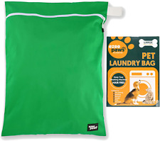 Ezee Paws Pet Laundry Bag for Pet Hair | Washing Machine Bag with Locking Zip