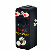 SONICAKE Shark Distortion Pedal Wide Ranging Effects 3 Sound QSS-05