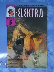 BILL SIENKIEWICZ und FRANK MILLER: ELEKTRA (Band 5) Splitter-Verlag 1991