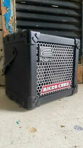 Roland Micro Cube Battery Powered Small Practice Guitar Amp