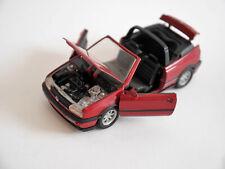 Volkswagen VW Golf 3 Mk III Cabrio convertible m´rot red metallic, Schabak 1:43