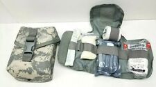 GI Individual First Aid Kit (IFAK) With Supplies Carry Case