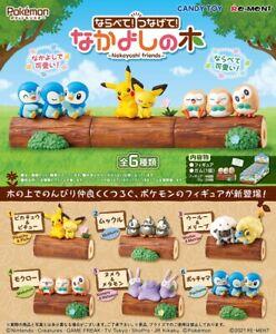 Re-Ment PokeMon Pikachu Nakayoshi friends Forest Desktop Figure Full Set Rement
