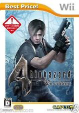 Used Wii Biohazard 4 Wii Edition Nintendo JAPAN JP JAPANESE JAPONAIS IMPORT