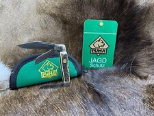 """Puma 41 0675 Stockman Knife With Stag Handles - Mint In Puma Pouch """"A"""""""
