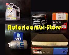 KIT DE MANTENIMIENTO FILTROS + 5 L CASTROL GTX 10W40 ALFA 147 1.9 JTD 85KW 115CV