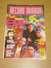 RECORD MIRROR 1991 FEB 2 EMF ENIGMA NORMAN COOK MADONNA