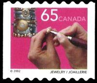 Canada    # 1928   Jewelry Coil Single   New Pristine 2002 Original Gum