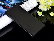 Ultrathin 50000mAh Power Bank 2 USB LED Zusatzakku Für Handy Batterie Ladegerät