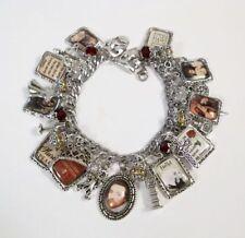 William Shakespeare Charm Bracelet Hand Crafted Romeo Juliet Hamlet