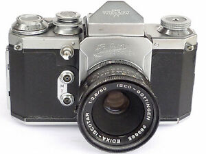 Edixa Reflex Modell II mit ISCO Iscotar 2,8/50