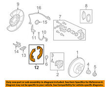 NISSAN OEM Parking Brake-Shoes D4060JN00A