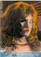 Blakes 7 Series 1 Sketch Card by Robert Hack