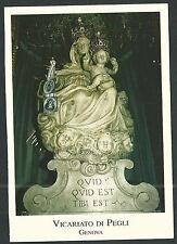 Postal de la Virgen del Carmen andachtsbild santino holy card santini