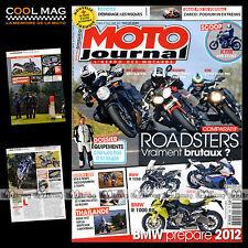 MOTO JOURNAL N°1952 TRIUMPH 1050 SPEED TRIPLE ★ VOXAN ★ GRAND PRIX ESTORIL 2011