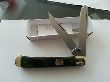 Kissing Crane Mountain Spring Series Trapper Knife     New      KC5175